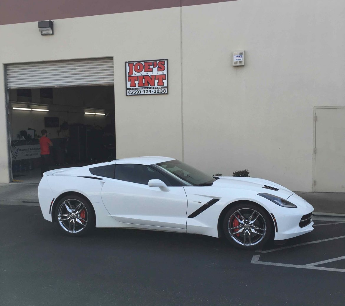 Corvette Stingray Gets Upgraded with Ultra Performance Window Tint