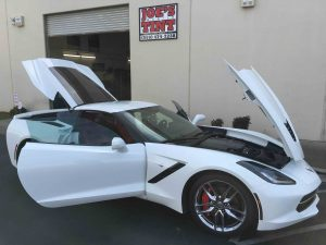 Corvette Stingray Gets Upgraded with Ultra Performance Window Tint 2