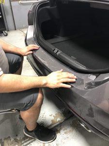 Alfa Romeo Giulia Gets Window Tint and Paint Protection Film 3