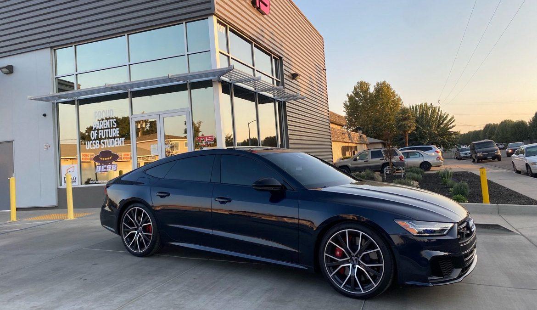 Stunning Audi S7 Made Even Nicer With NanoCeramic Window Tint - Automotive Window Tinting at Joe's Mobile Tint in Madera, California