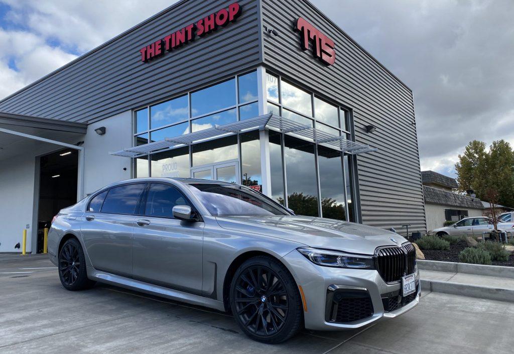Beautiful BMW 760i Gets Window Tint Upgrade at Joe's Mobile Tint - Window Tinting in Madera, California