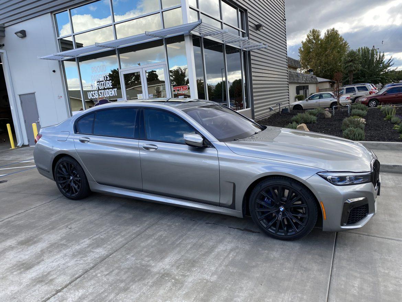 Beautiful BMW 760i Gets Window Tint Upgrade at Joe's Mobile Tint - Window Tinting in Madera, California 2